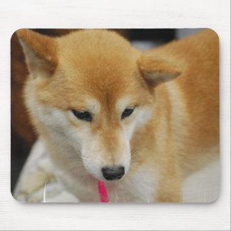 Cojín de ratón del perro de Shiba Inu Alfombrillas De Raton