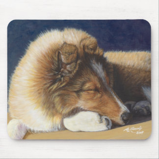 Cojín de ratón del perro del perro pastor de Shlti Alfombrilla De Ratones