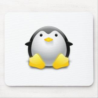 cojín de ratón del pingüino tapete de ratón