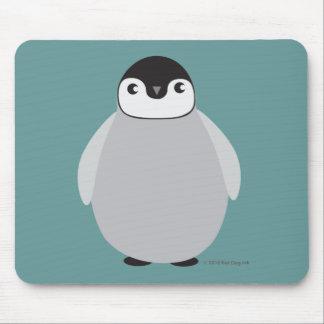 Cojín de ratón del pingüino tapete de raton