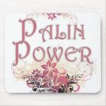 Cojín de ratón del poder de Sarah Palin Alfombrilla De Ratones