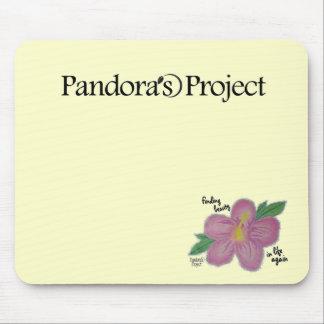 Cojín de ratón del proyecto de Pandora Alfombrillas De Ratón