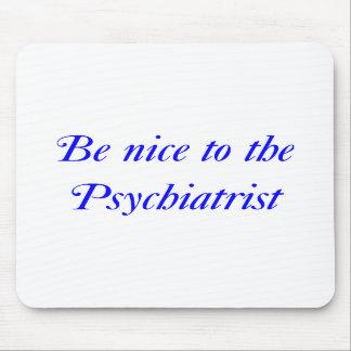 Cojín de ratón del psiquiatra alfombrillas de ratón