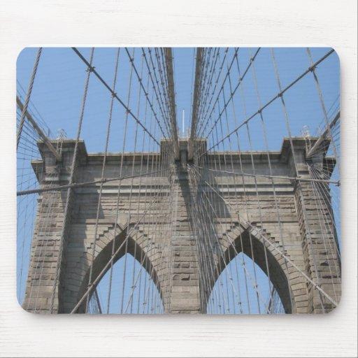 Cojín de ratón del puente de Brooklyn Alfombrilla De Raton