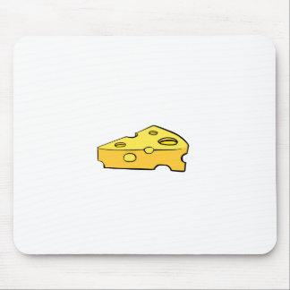 cojín de ratón del queso alfombrilla de ratones