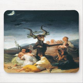 Cojín de ratón del Sabat de las brujas de Goya Alfombrilla De Ratones