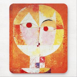 Cojín de ratón del Senecio de Paul Klee Alfombrilla De Ratón