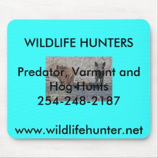 Cojín de ratón del sur de los cazadores del cerdo alfombrillas de ratón