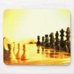 Cojín de ratón del tablero de ajedrez alfombrilla de ratones