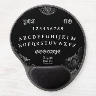 Cojín de ratón del tablero del alcohol alfombrilla de raton con gel
