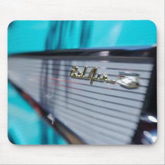 Cojín de ratón del Tailfin de 57 Chevy Tapete De Ratón