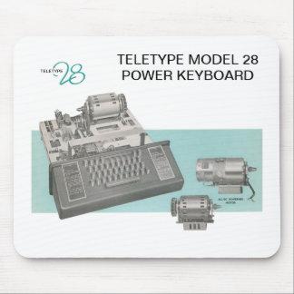 Cojín de ratón del teclado del modelo 28 del telet tapete de ratón