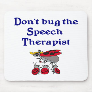 Cojín de ratón del terapeuta de discurso alfombrilla de ratones