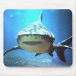 Cojín de ratón del tiburón tapete de ratones