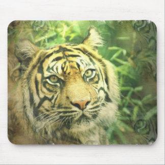 Cojín de ratón del tigre siberiano alfombrillas de ratón