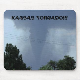 COJÍN de ratón del tornado de Kansas Tapetes De Ratón