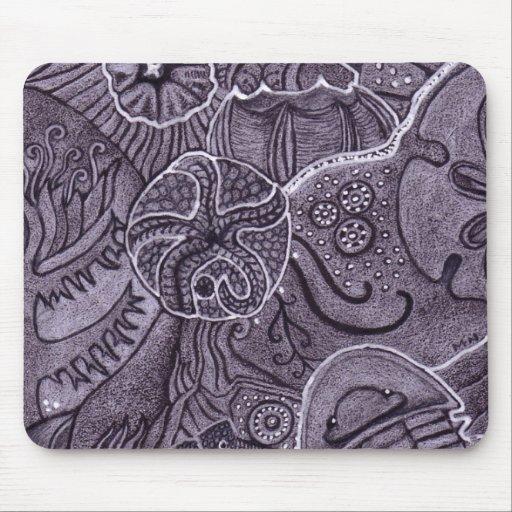 cojín de ratón del trilobite tapete de raton