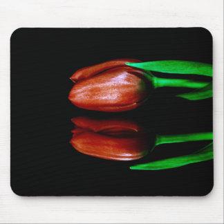 Cojín de ratón del tulipán de Ted Alfombrilla De Ratón
