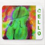 Cojín de ratón del violoncelo de Apple Alfombrillas De Raton