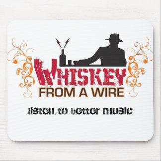 Cojín de ratón del whisky mouse pad