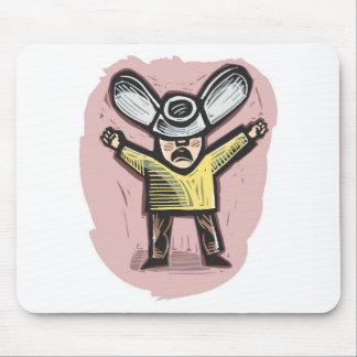 Cojín de ratón del Wingnut Alfombrillas De Raton