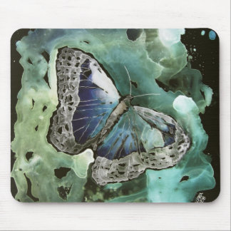 cojín de ratón digital de la pintura de la maripos tapetes de raton