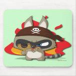 Cojín de ratón divertido de la catapulta del dibuj tapetes de ratones