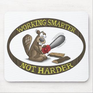 Cojín de ratón divertido: No más duro más elegante Mousepad
