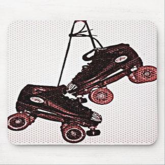 Cojín de ratón doblado colgante del arte pop de lo tapetes de raton