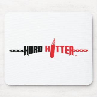 Cojín de ratón duro del logotipo del bateador alfombrillas de ratón