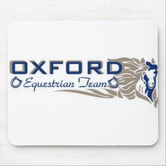 Cojín de ratón ecuestre del equipo de Oxford Mouse Pad