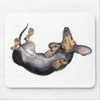 cojín de ratón el dormir del dachshund alfombrilla de raton
