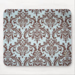 Cojín de ratón elegante de la tela del azul francé tapete de ratones