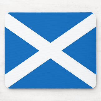 Cojín de ratón escocés de la bandera alfombrilla de ratones