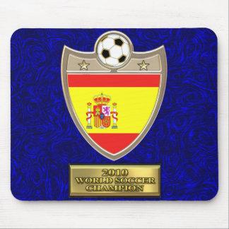 Cojín de ratón español del fútbol mouse pads