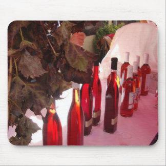 Cojín de ratón español del vino alfombrillas de ratón