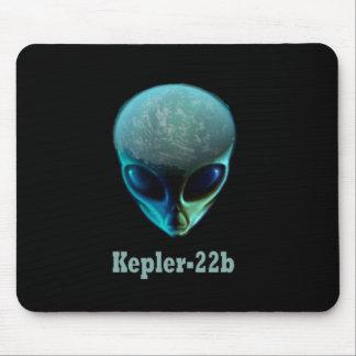Cojín de ratón extranjero de Kepler-22b Mousepads