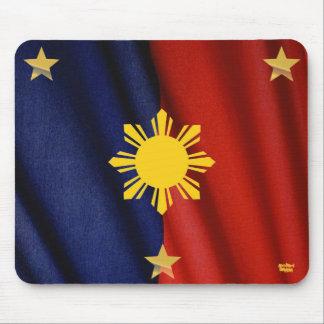 cojín de ratón filipino de la bandera alfombrillas de ratones