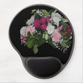 Cojín de ratón floral alfombrilla para ratón de gel