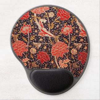 """Cojín de ratón floral de William Morris """"Cray"""" Alfombrilla De Ratón Con Gel"""