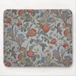 Cojín de ratón florecido del papel pintado tapetes de ratón