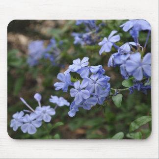 Cojín de ratón - flores azules hermosas alfombrilla de ratón