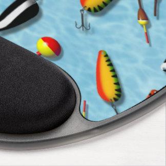 Cojín de ratón - gel - sacudidas y señuelos de la alfombrillas de ratón con gel