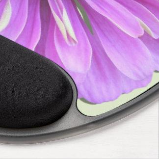 Cojín de ratón - gel - Zinnia de la lila Alfombrilla De Raton Con Gel
