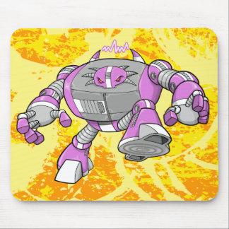 Cojín de ratón gigante del Cyborg del robot del gu Tapetes De Raton