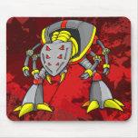 Cojín de ratón gigante del guerrero del Cyborg del Tapetes De Ratón