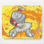 Cojín de ratón gigante del guerrero del Cyborg del Alfombrillas De Ratones