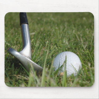 Cojín de ratón Golfing de la foto Alfombrillas De Ratones