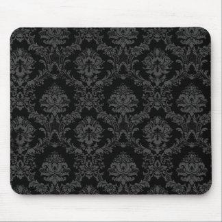 Cojín de ratón gótico negro mouse pad