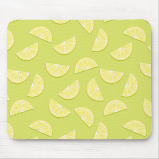 Cojín de ratón gráfico del pañuelo del limón mouse pads